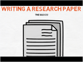 Research paper: basics